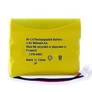 Empire CPB-400C Níquel Cadmio 900mAh 3.6V - Batería/Pila recargable (Níquel Cadmio, Teléfono DECT, Ultra High, Amarillo, CPB-400C)