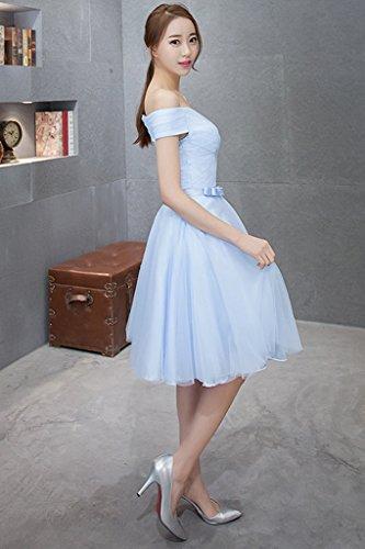 Vimans -  Vestito  - linea ad a - Donna Blue 46