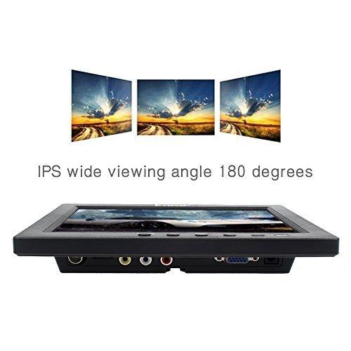 Eyoyo S801C 8 Inch Small HDMI BNC VGA Monitor LCD Screen 1024x768 4:3 Display Ypbpr Input Support Powerbank 5V Input by Eyoyo (Image #6)