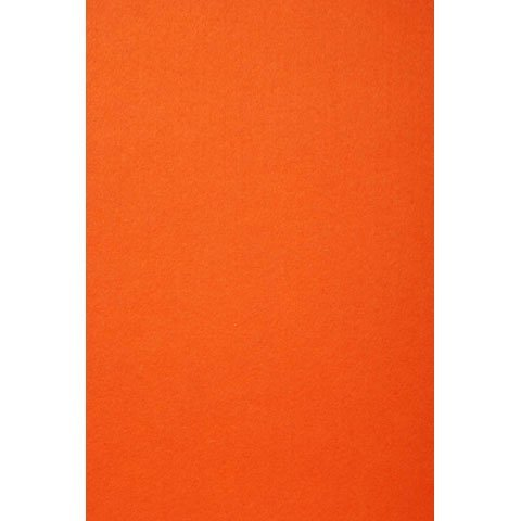 Darice Bulk Buy DIY Stiff Felt Sheet Orange 12 x 18 inches (5-Pack) FLT-0336