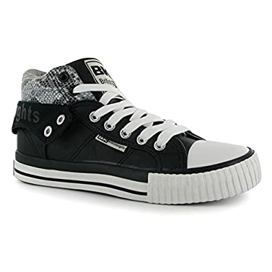 Femmes Roco Pu Baskets Lacets Montantes Chaussures British Knights YyvIf6gb7