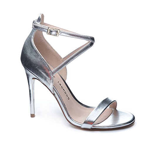 Chinese Laundry Women's Lavelle Dazzle Me Dress Sandal, Silver, 7.5 M US (Silver Sandals Chinese Laundry)
