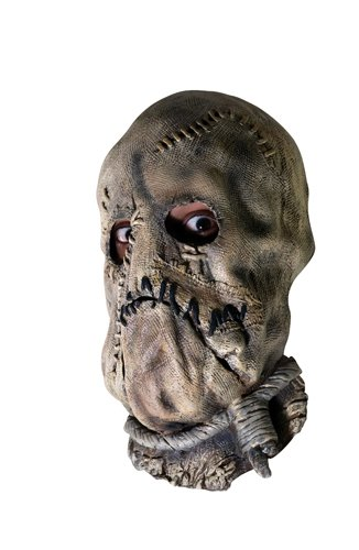 Rubie's Men's Batman The Dark Knight Scarecrow Mask, Multi, One (The Scarecrow Costumes Batman)