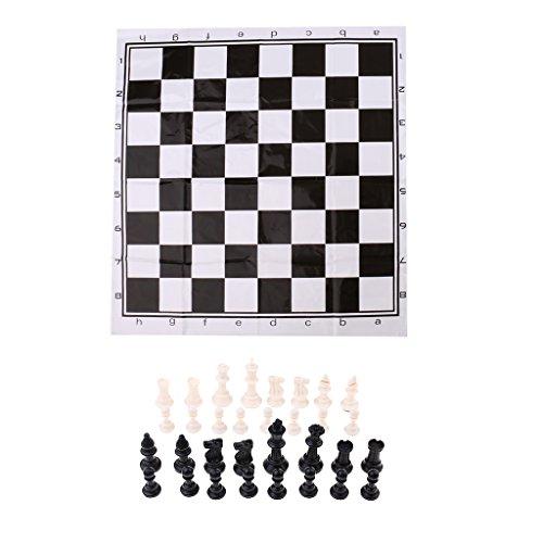 Fenteer 国際チェスセット チェスボード チェスピース ポータブル トラベルゲーム