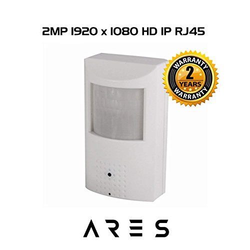 Covert Cctv Cameras - Ares Vision 2.1 MP IP Network Hidden Covert Alarm Sensor CCTV Camera w/IR LED Night Vision (1920x1080)