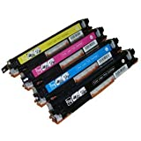 4 pack toners more compatible laser toner cartridge for hewlett packard hp 126a - Laserjet 100 Color Mfp M175nw