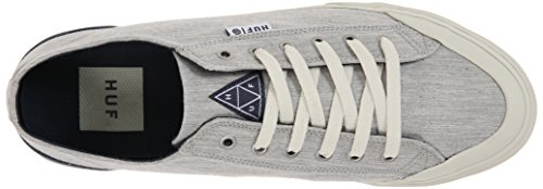Huf Mens Classic Low Skate Shoe Grigio Heather