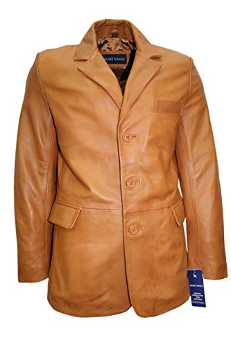 Nappa Leather Blazer - 3