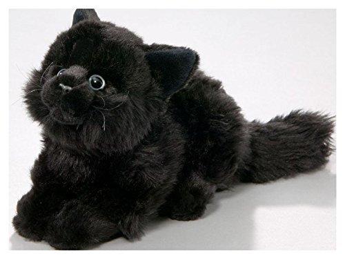 Cat Black, 8 inches, 20cm, Plush Toy, Soft Toy, Stuffed Animal 1308004