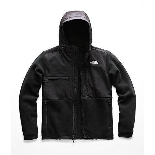 (The North Face Mens Denali Hoodie NF0A3RW8LE4_L - Black)