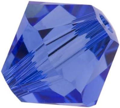 5328 Swarovski® Crystal Bicone Beads Sapphire
