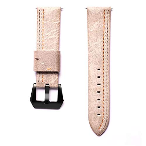 Jewh Retro Vintage Genuine Leather Strap - Samsung Smart Watch - Replacement for Samsung Gear S3