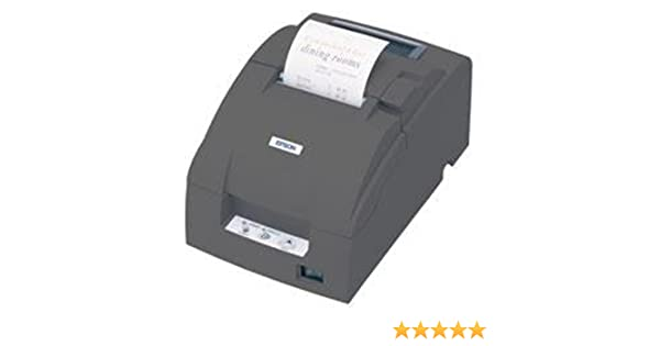 Impresora Ticket EPSON TM-U220PB Corte Paralelo Negra
