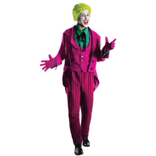 Rubie's Costume Grand Heritage Joker Classic TV Batman Circa 1966, Multi-Colored, X-large Costume - The Joker Costume Classic