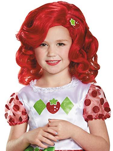Strawberry Shortcake Deluxe Child Wig Costume ()