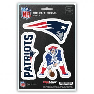 New England Patriots Stickers (NFL New England Patriots Team Decal,)
