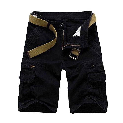 Win8Fong - Pantalón corto - para hombre negro
