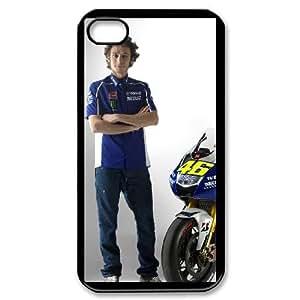 iPhone 4,4S Phone Case Black Valentino Rossi BFG116530