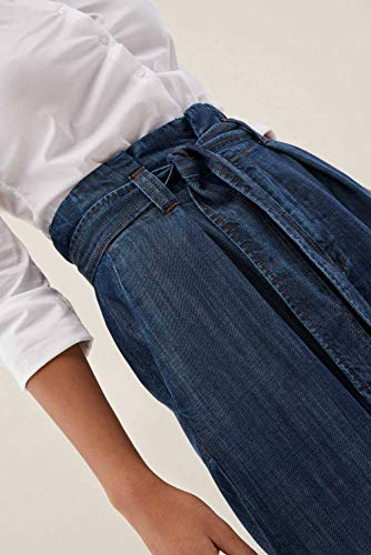 Pantaloni Jeans Palazzo Azzuro Leggeri In Salsa dAYZqd