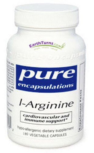Pures Encapsulations - Arginine 700 mg - 180 vcaps