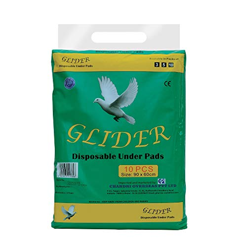 GLIDER DISPOSABLE UNDERPADS ( PACK OF 10 )