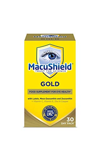 Macu Shield Gold Food Supplement - Pack of 90 Capsules