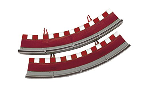 (SCX Standard Curve Border with Barrier (X4) Vehicle Replica)
