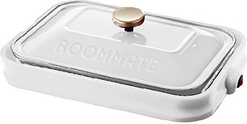 ROOMMATE PARTY PLATE EB-RM8600H-WH (White)