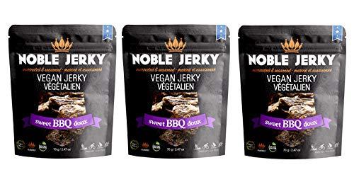 Noble Jerky - Sweet BBQ Vegan Jerky - 2.47 oz