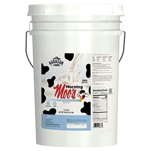 Augason Farms Morning Moo's Low Fat Milk Alternative Emergency Food Storage 30 Pound ()