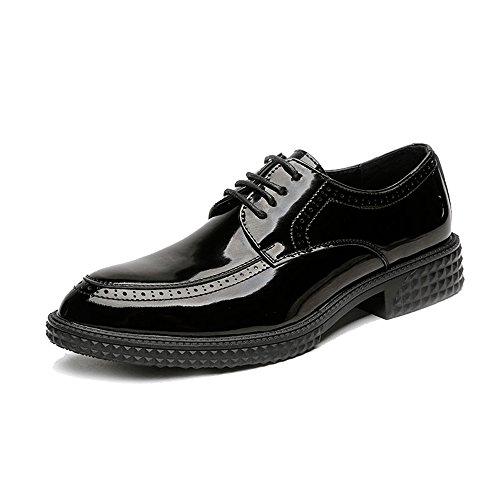pelle lavoro lacci EU da uomo Xiaojuan Color Scarpe Dimensione in liscia Pelle shoes uomo Nero sintetica Classico da con Uomo Scarpe 41 da traspirante g7wwXn6q