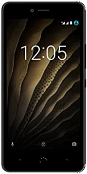OUTLET bq smartphone Aquaris U (16+2GB) black/graphite grey ...