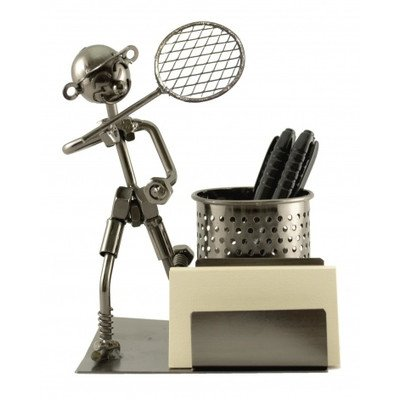 Tennis Business Cards - Tennis Player Pen and Business Card Holder