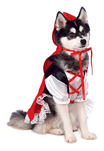 Halloween Costume Little Red Riding Hood (Rubie's Red Riding Hood Dog Costume)