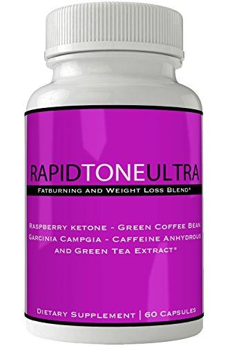 Rapid Tone Ultra Weight Loss Supplement - Extreme Weightloss Lean Fat Burner | Thermogenic Fat Loss Blend Weigh Pills for Women Men Natural Weight Loss Pastillas Original Keto Diet Pills