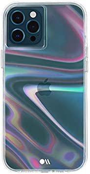 Case-Mate - SOAP Bubble - Case for iPhone 12 and iPhone 12 Pro (5G) - 10 ft Drop Protection - 6.1 Inch - Iride