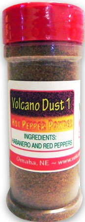 Volcano Dust 1, 3 Oz Bottle - Smoked Habanero and Dried for sale  Delivered anywhere in USA