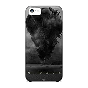 MgwpPtQ3822mBcGd Snap On Case Cover Skin For Iphone 5c(trivium In Waves)