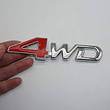 2945RD S Badge Red /& Chrome Hq Metal Trunk Badge Auto Fender Side Door Car Self Adhesive Emblem Logo Body Hood Decal Sticker Replacement Truck Van Sports Name Plate Swap 3D Die TOTUMY 1 Piece