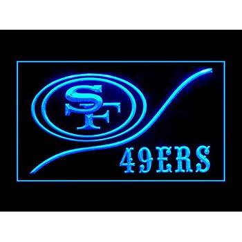 Amazon.com: San Francisco 49ers Cool Led Light Sign: Home ...