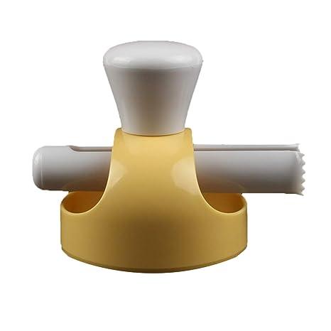 Molde Grande para Hornear Utensilios Pinzas Dona presionar Molde de la Galleta del Pan Hueco plástico
