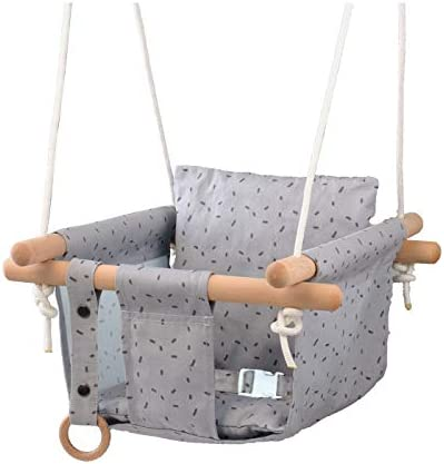 HAPPY PIE PLAY ADVENTURE Secure Canvas Hanging Swing Seat Chair