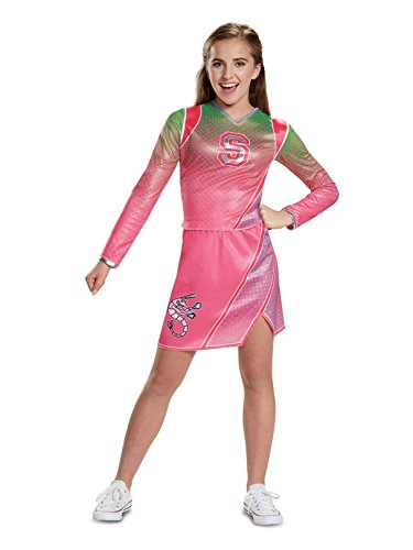 Disguise Addison Classic Cheerleader Child Costume, Pink, Large/(10-12) ()