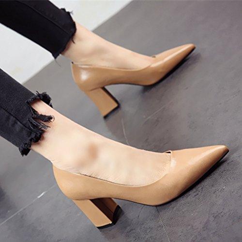 tacones la fiesta de c sexy FLYRCX europea tacones moda Personalidades altos altos zapatos Zapatos los solo simple 8qOwEUx