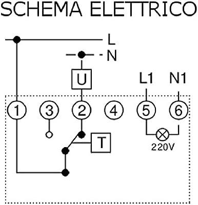 Termostato Blanco, 5-30 /°C, /°C, El/éctrico, Corriente alterna, 250 V Poly Pool PP1461 Blanco termoestato