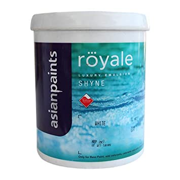 Asian Paints Royale Luxury Emulsion Shyne Paint 1 L White