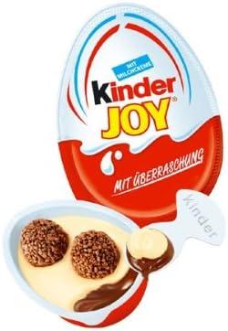 Kinder 72 Pack Kinder Joy Surprise Eggs 20g each 1,440g total ...