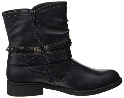 Bruno Banani Women's 264 525 Biker Boots, Charcoal Blue (Nightblue 852)