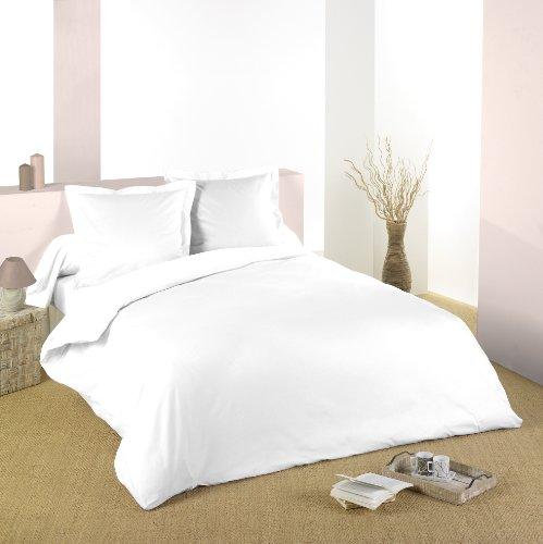 Lovely Casa hc24820001Alicia HC 100% Baumwolle 200x 200cm, weiß, 200 x 200 cm