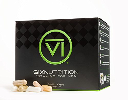 Six Nutrition - Vitamins for Men One Month Supply - 25 Pouches (Vitamins & Nutrition)